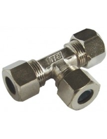T Ermet Nickel Plated 8mm Tube Nuts and Rings