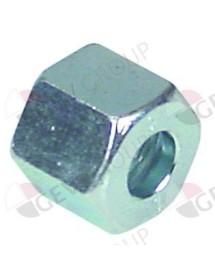 tuerca de racor rosca M14x1,5 para ø de tubo 8mm