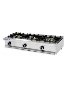 Cocina industrial 3 quemadores/fuegos Repagas CG-530/M