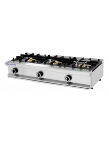 Industrial kitchen 3 burners Repagas CG-530/M