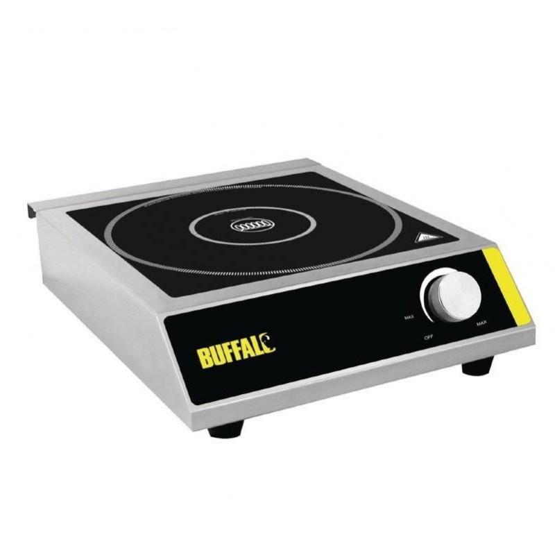 Plaque induction petite buffalo chef global machines - Alimentation plaque induction ...