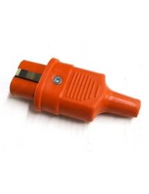 Straight Silicon Plug 250 / 380V 25A