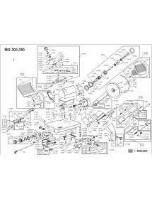 Long carriage Braher Protector Braher USA 250 USA 300 12086