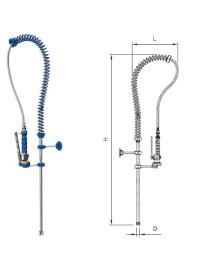 Basic shower tap