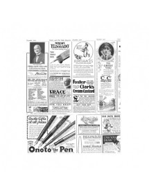 Greaseproof paper Newspaper Print (1000 units)