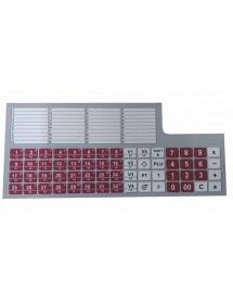 Carátula Teclado Plus Dibal 60 teclas K-3xx BK-P4169