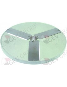 slicing disk type E2 ø 206mm seat ø 19mm slicing thickness 2mm plastic Celme, Fimar, GAM