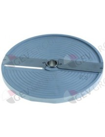 slicing disk type P2 HLC300 ø 206mm seat ø 19mm slicing thickness 2mm plastic
