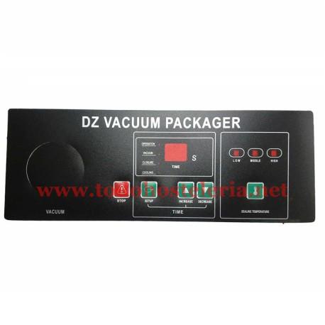 Carátula Envasadora Vacío DZ-400 DZ-500