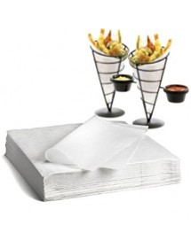 Greaseproof White Kraft Paper (500 pcs)