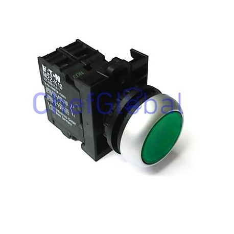 push switch mounting measurements Ozti M22DRL-G Conjunto 6232.00012.09 6232.00012.05 6232.00012.04 6232.00012.07