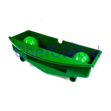 Bandeja portapiñas verde Zummo Z08 7/1-1V