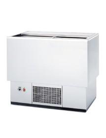 Bottle cooler in white BEG-100