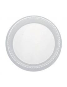 Round Flat Premium Plate 22 cm (12 pcs)