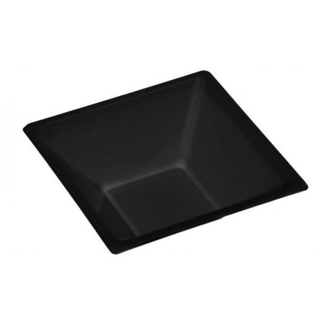 Square black bowl design 12x12x5'2cm (25 pcs)