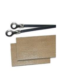 Repuesto soldadora de bolsas PFS400 mm (2 resistencias y 2 cinta antiadherente)