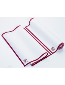 100% Cotton dishcloths 40x64 cm Bordeaux (10 pcs)