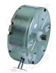 motor CDC pinion ø 4,9mm teeth 10 230V voltage AC 50/60Hz turn direction right motor ø 47mm