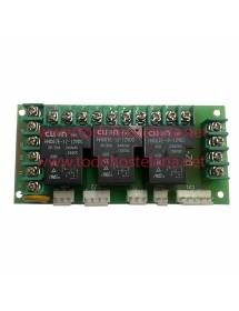 Relay card DZ-JXB 3 relays HHC6TE-1Z-12VDC ZXJ-JXB