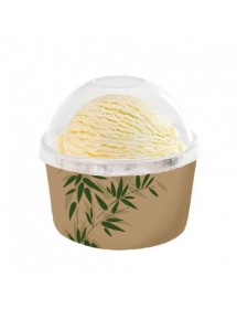 "Ice-Cream Tubs ""FEEL GREEN"" (50 pcs)"