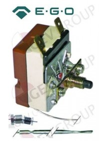 Safety thermostat switch-off temp. 190°C 1-pole 16A probe ø 3,1mm probe L 178mm EGO, Electrolux, Juno, Therma