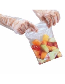 Self-closing polyethylene bags (Pack of 100 pcs)