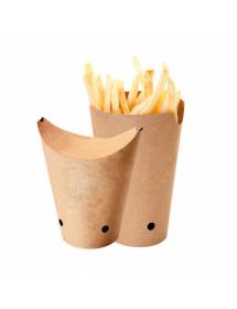 Vasos para fritos con cierre (Pack 50 uds)