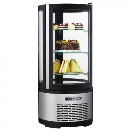 Round refrigerated display case ARC-100R
