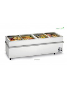 Horizontal high-volume freezer Glass Top 900 CHV / V