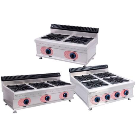 Cocinas a gas industriales gbr chef global maquinaria equipamiento de hosteleria bar y - Cocinas industriales a gas ...