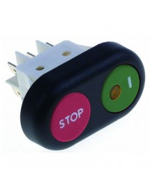 Interrupteur à poussoir 345712 Amatis Horeca-Select Omas RGV