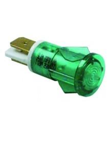 Lámpara de señalización ø 12mm verde 230V UE 1 pzs 359041