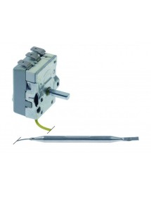 Thermostat t.max. 110°C temperature range 30-110°C 1-pole 1CO 16A probe ø 6mm probe L 91mm Ozti 6234.00001.080 390927