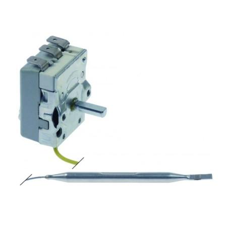 thermostat t.max. 110°C temperature range 30-110°C 1-pole 1CO 16A probe ø 6mm probe L 91mm Ozti 6234.00001.080