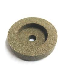 Piedra de Afilar 40x10x6mm Eje 6mm Grano fino Braher Iffaco