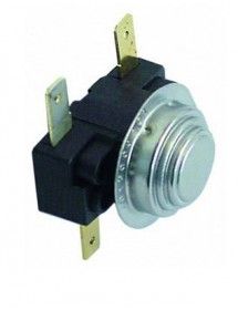 Bimetal thermostat 66/57°C NC/NO 2-pole 16A connection male faston 6,3mm Fagor Z653013