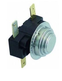 Termostato de contacto 66/57°C NC/NO 2polos 16A empalme conector Faston 6,3mm Fagor Z653013