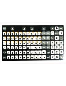 Carátula Teclado Consola LP3000 Dibal BE-P3726