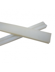 Silicon Bar for Sealing Vacuum Packing 1000x16x11mm half slotted