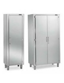 Standing cabinets with hinged doors