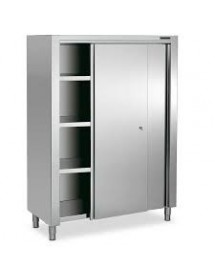 Standing cabinets with sliding doors