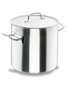 Straight pot with lid