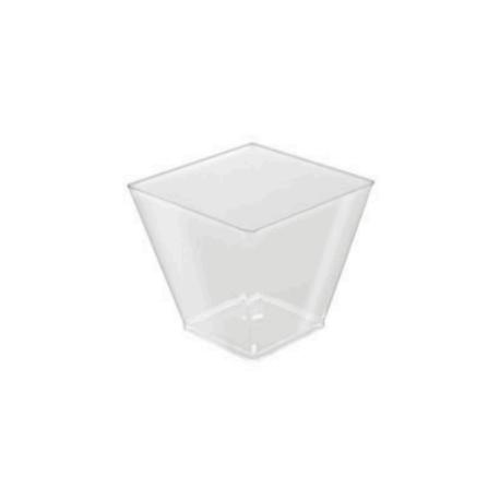 Square bowl (Pack of 25 units) FINGER FOOD