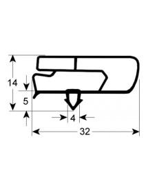 joint froid profil 9797 lar. 445mm L 246mm 901751 1/2 MSP2006 perfil 9797 901751 12035824 6045010118 fagor