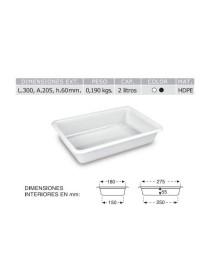 Rectangular Crate 3/5/8 Liters.