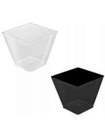 Square bowl (Pack of 25 units) FINGER FOOD