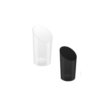 Asymmetric conical cup (packs of 25 units) FINGER FOOD