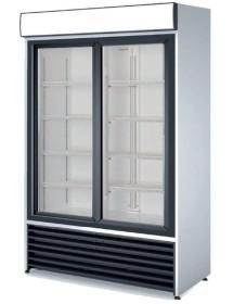 Armario Expositor Vertical Refrigerado Dos puertas RVCS-1000S
