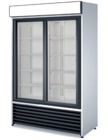 Refrigerated Vertical Display Cabinet Two doors RVCS-1000S