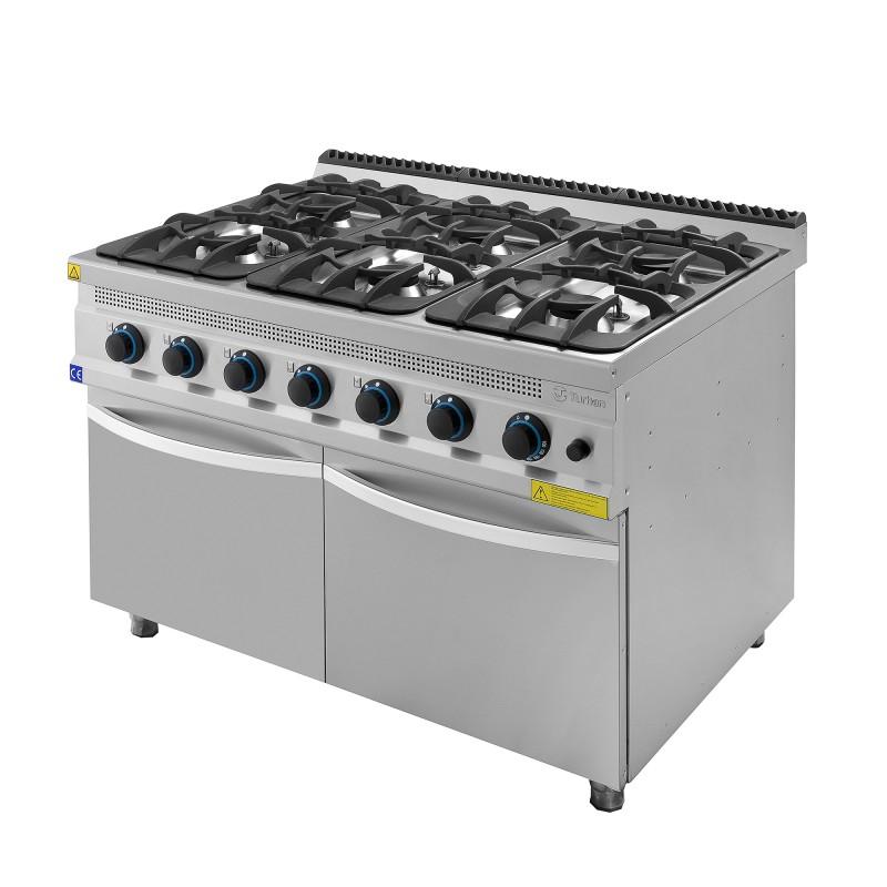 Cocina a gas con mueble turhan serie 930 chef global for Cocinas a gas nuevas